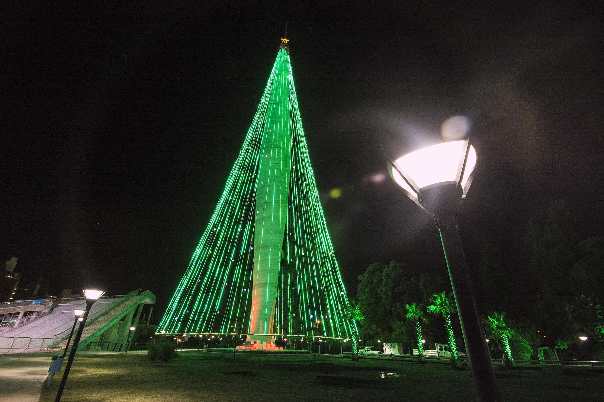 navidad el 8 de diciembre se encender el rbol en el